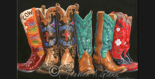 Gerald's Boots II by Jessica Glenn