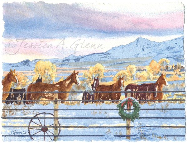 Herd for the Holidays by Jessica Glenn
