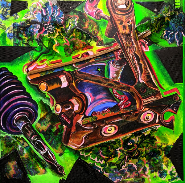 Green Machine by Caroline Baker
