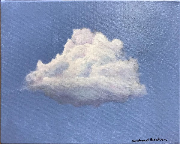 Study for Cloud on Blue by Richard Becker