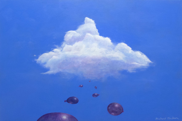 Balloon Cloud I by Richard Becker