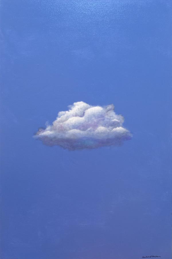 Cloud on Blue by Richard Becker