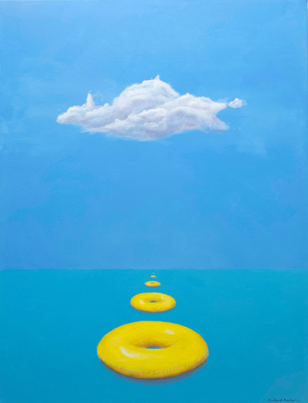 .Cloud with Floats by Richard Becker
