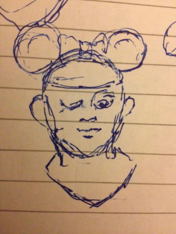 Mouse Princess by Richard Becker