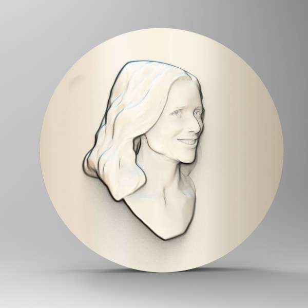 JLD Concept Relief for Emmys WIP by Richard Becker
