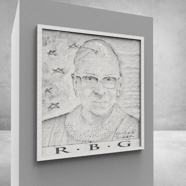 Ruth Bader Ginsburg study by Richard Becker