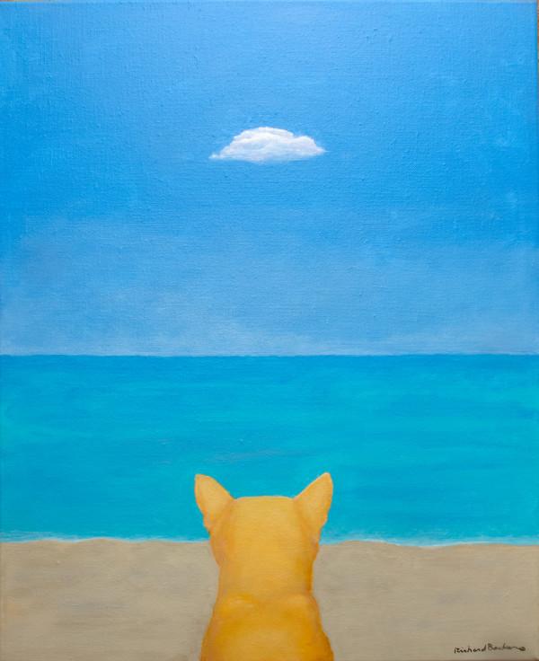 Cat Beach (when cats dream III) by Richard Becker