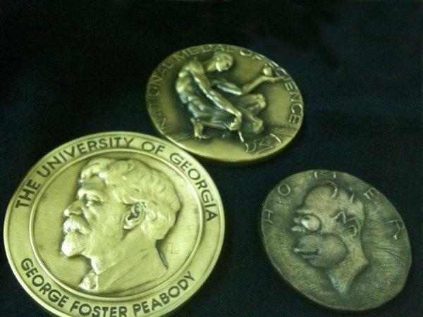 Homer Medallion for The Simpsons by Richard Becker