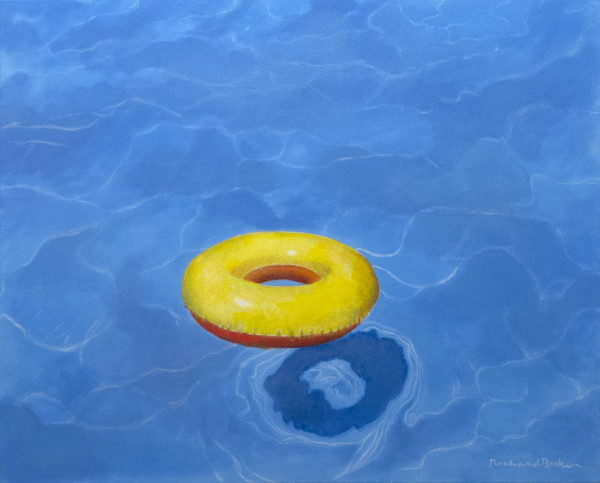 Pool Float by Richard Becker