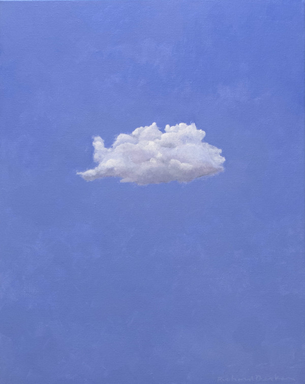 Reclining Cloud by Richard Becker