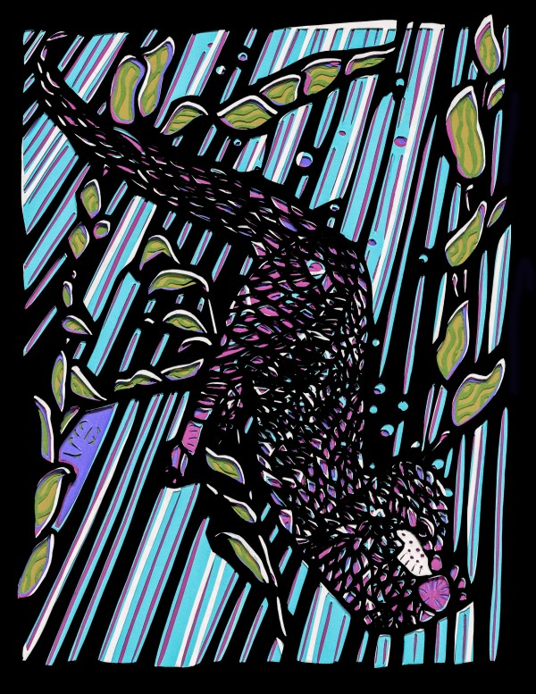 Otter by Ellen Sandbeck