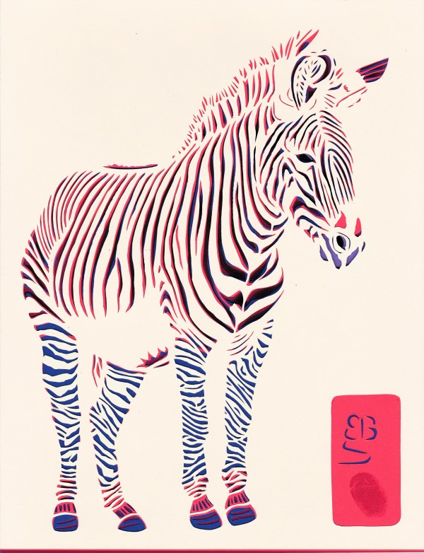 Greevy's Zebra by Ellen Sandbeck
