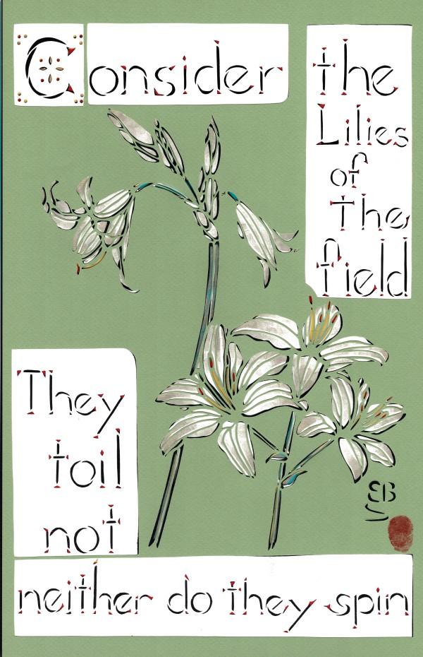 Lilies of the Field by Ellen Sandbeck