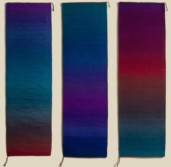 Three Part Harmony triptych by Sherri Woodard Coffey