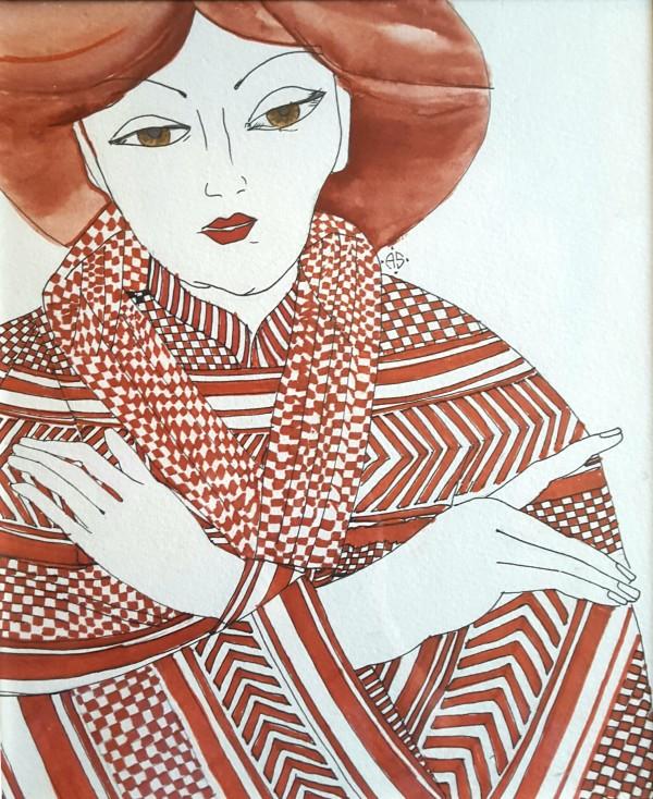 GIrl in Kimono by Andrea Sartori