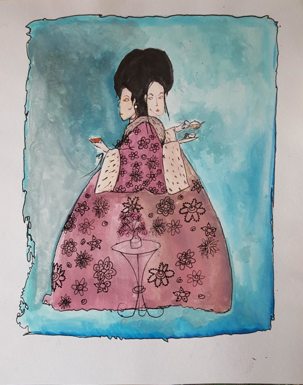 Siamese Girls by Andrea Sartori