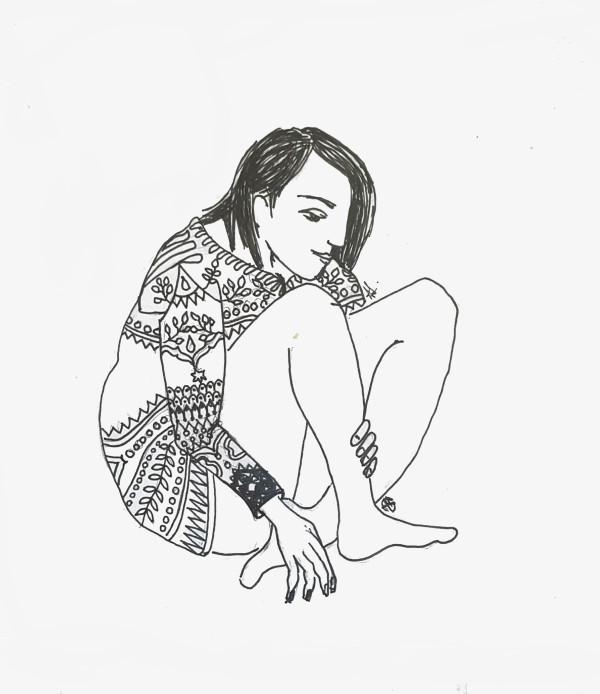 Winter Girl by Andrea Sartori
