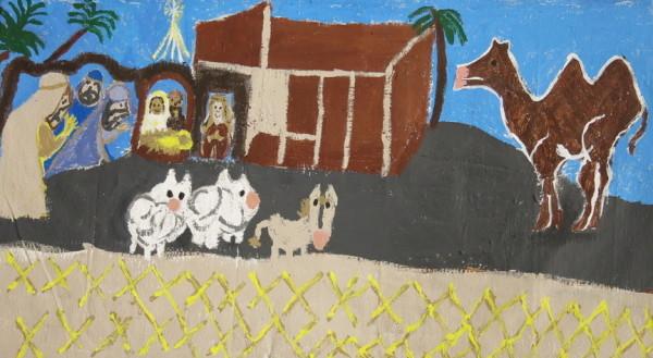 Nativity Scene by Shannon R.