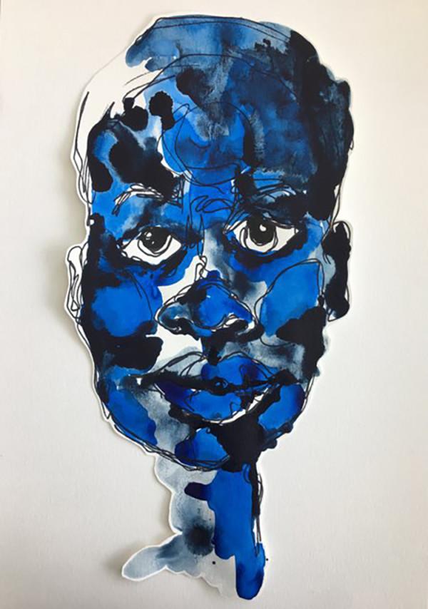 Blue-Black by Erin Kendrick