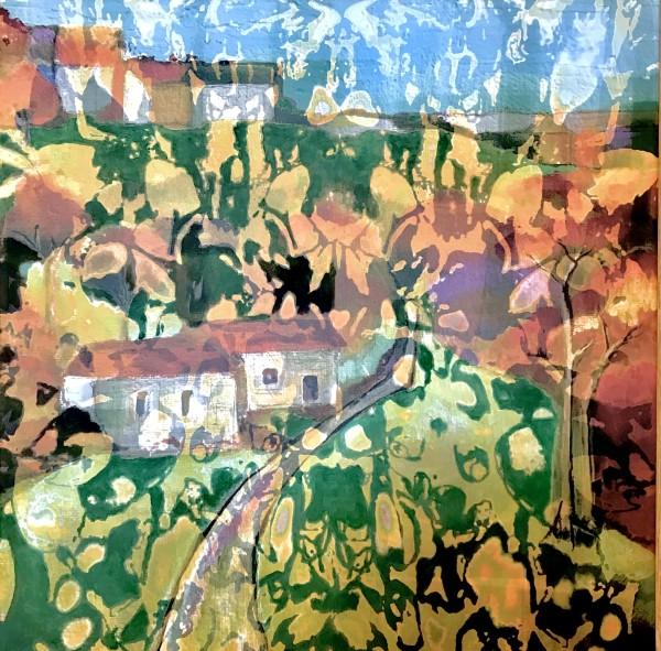My Trip to Norway by Debra Sutherland Core  Fine Art
