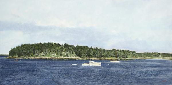 Deer Isle, Maine by Carol Rowan
