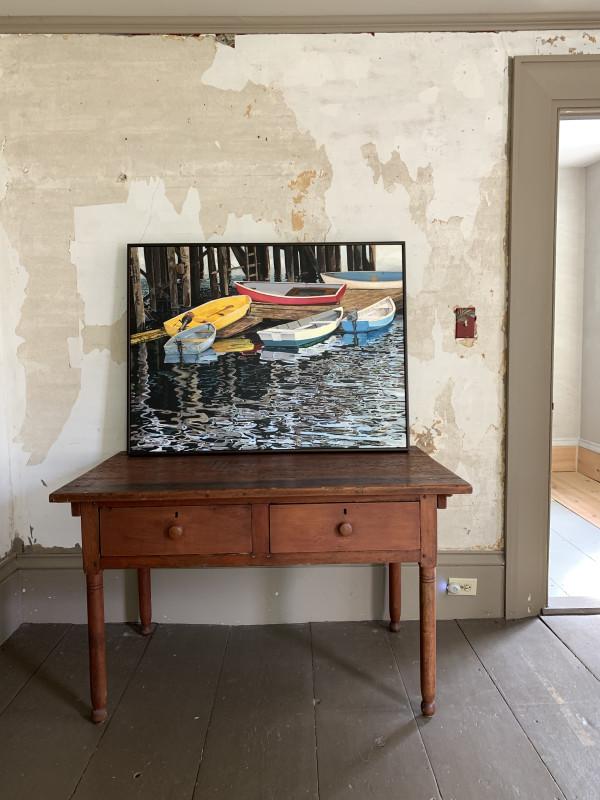 Southwest Harbor Dinghies by Carol Rowan