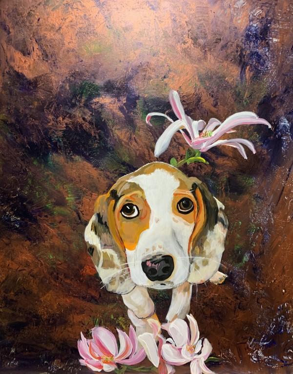 Heather's Beagle by Deborah A. Berlin