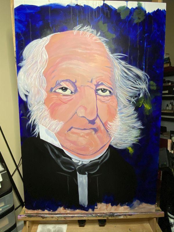 Mr. President (Martin Van Buren) by Deborah A. Berlin