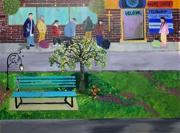 The Empty Bench by Deborah A. Berlin