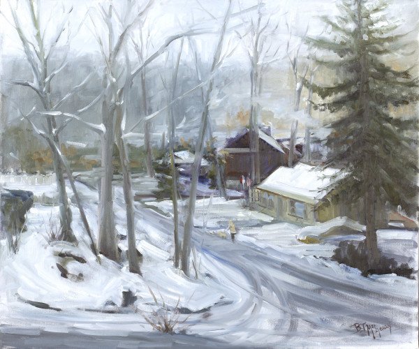 """Winter Wallop"" by Bonnie J McGown"