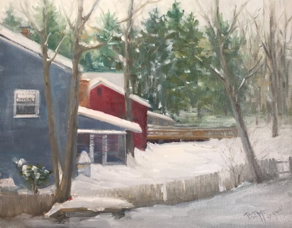 """SnowMaggedon by Bonnie J McGown"