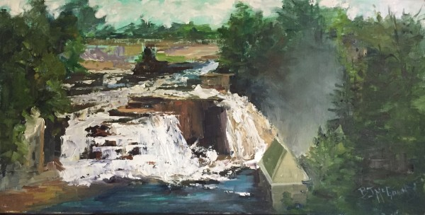 """Ausable Chasm"" by Bonnie J McGown"
