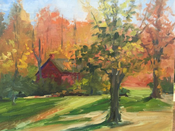Autumn at the Manor by Bonnie J McGown
