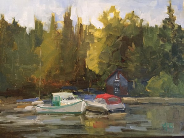 """Docks"" by Bonnie J McGown"