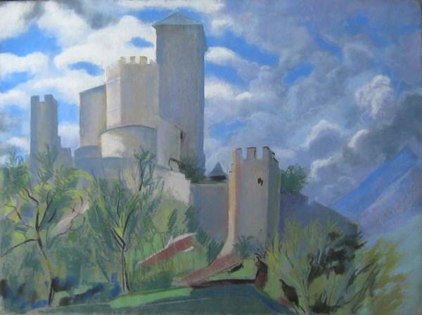 Sion, citadelle de Valère by LECOULTRE, John-Francis (1905-1990)