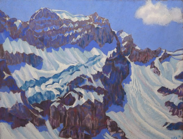 Glaciers bleus, I by LECOULTRE, John-Francis (1905-1990)