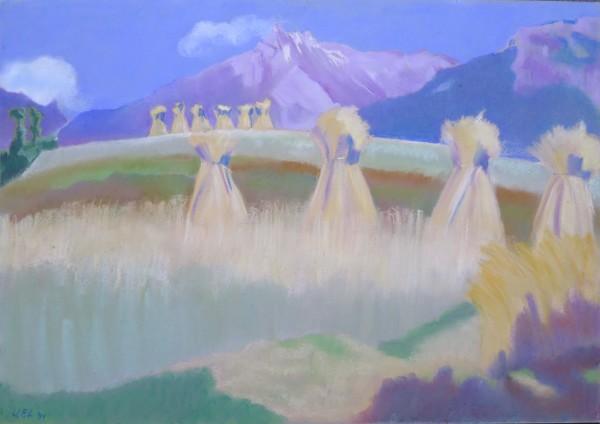 Moyettes, Savièse by LECOULTRE John-Francis (1905-1990)
