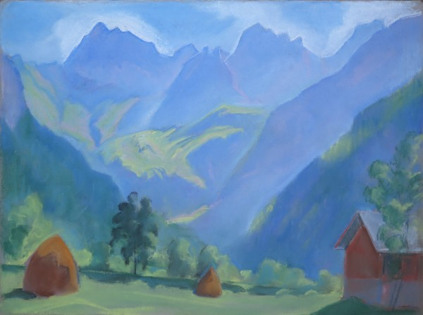 Paysage alpestre by LECOULTRE John-Francis (1905-1990)