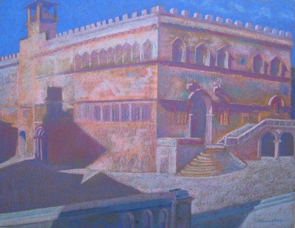 Perugia, Palazzo dei Priori by LECOULTRE John-Francis (1905-1990)