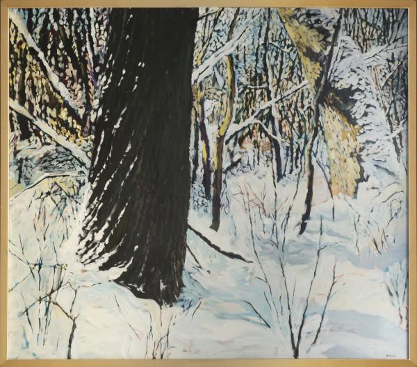 Black Oak White Snow by Julie and Ken Girardini