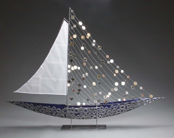 Coin Boat by Julie and Ken Girardini