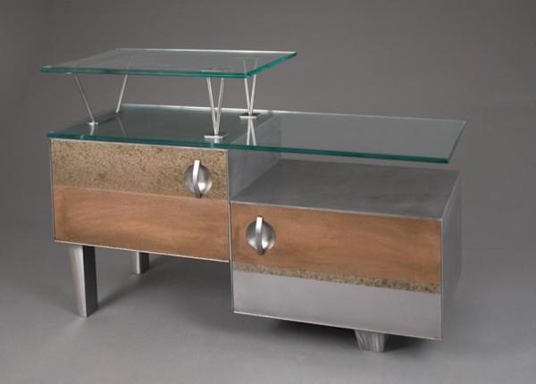 AV Stereo Cabinet by Julie and Ken Girardini