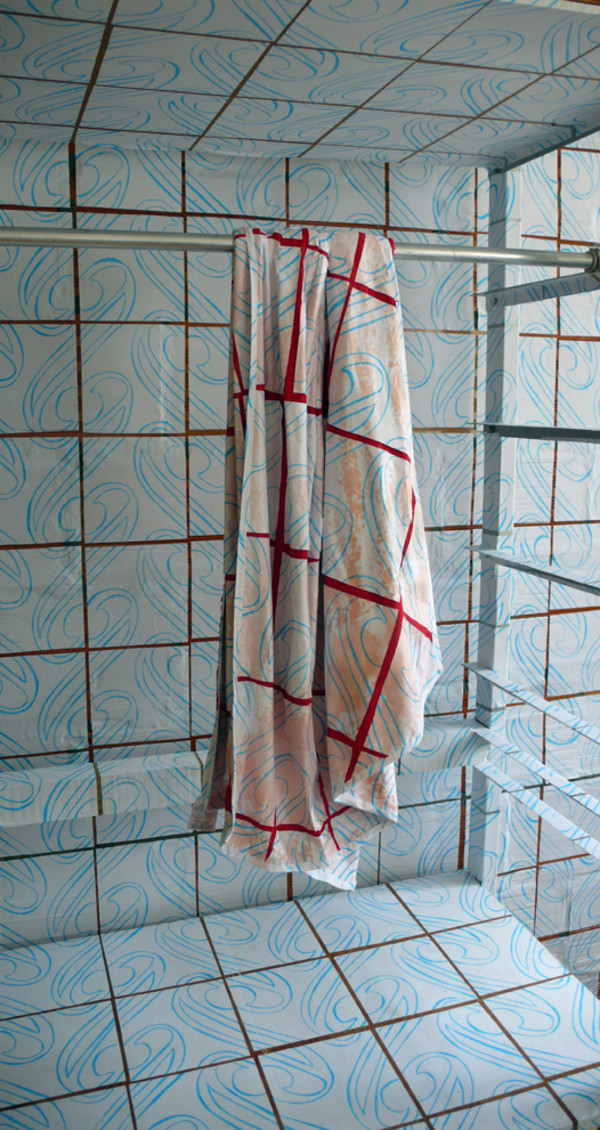 A bath towel, from The Copings by Kim Faler