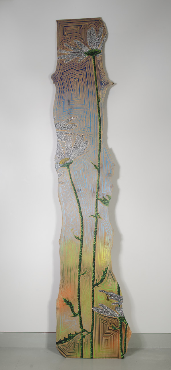 Vertical Daisy (landscape) by Jason Middlebrook