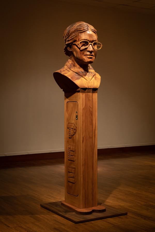 Untitled, PEZ (Time Capsule) Rosa Parks by Todd Pavlisko
