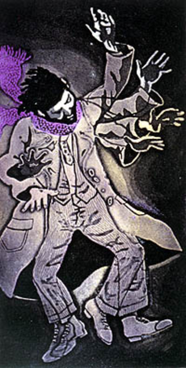 The Dancing Fool (17/75) by Frank Wright