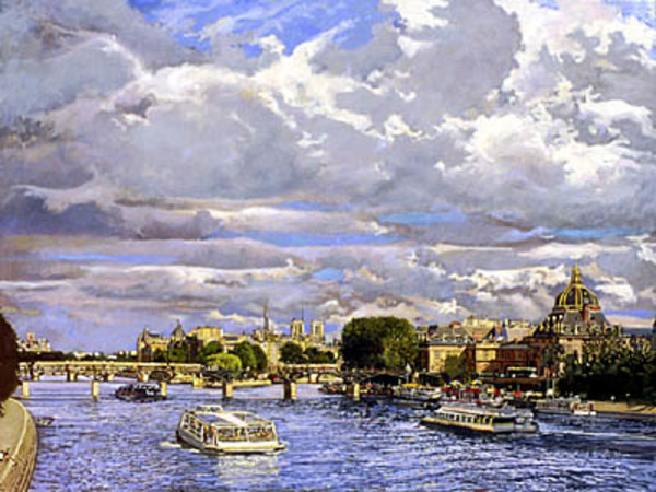 Under Paris Skys by Frank Wright