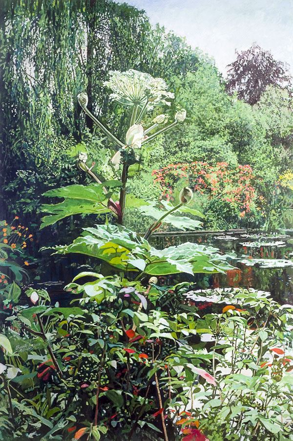 The Grand Giverny by Frank Wright