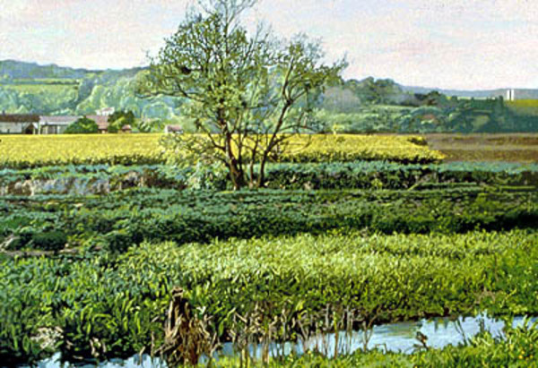 On the Road to Giverny by Frank Wright