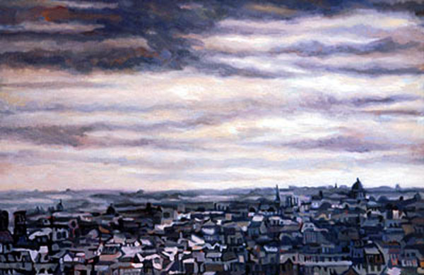 Paris Under a Winter Sky by Frank Wright
